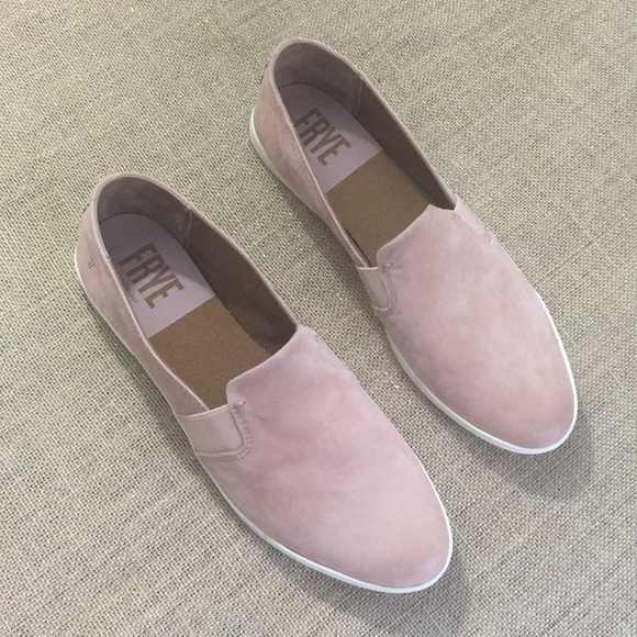 Frye Shoes - Frye slip-on loafers in pink size 10